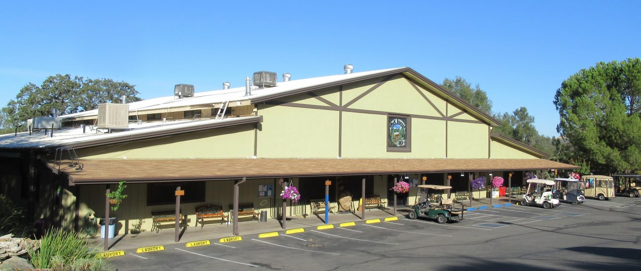 Our Clubhouse is the social hub of the Park
