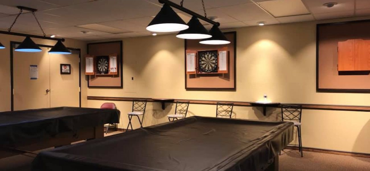 Members enjoy Darts on Friday Nights