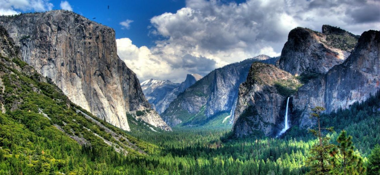 Yosemite National Park is close by