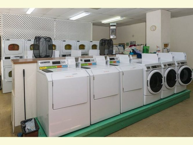 Our laundry is well maintained and well used